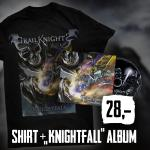 Knightfall CD + Shirt Package