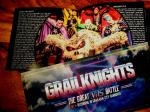 Grailknights Ticket plus Knightfall Japan Edition Booklet