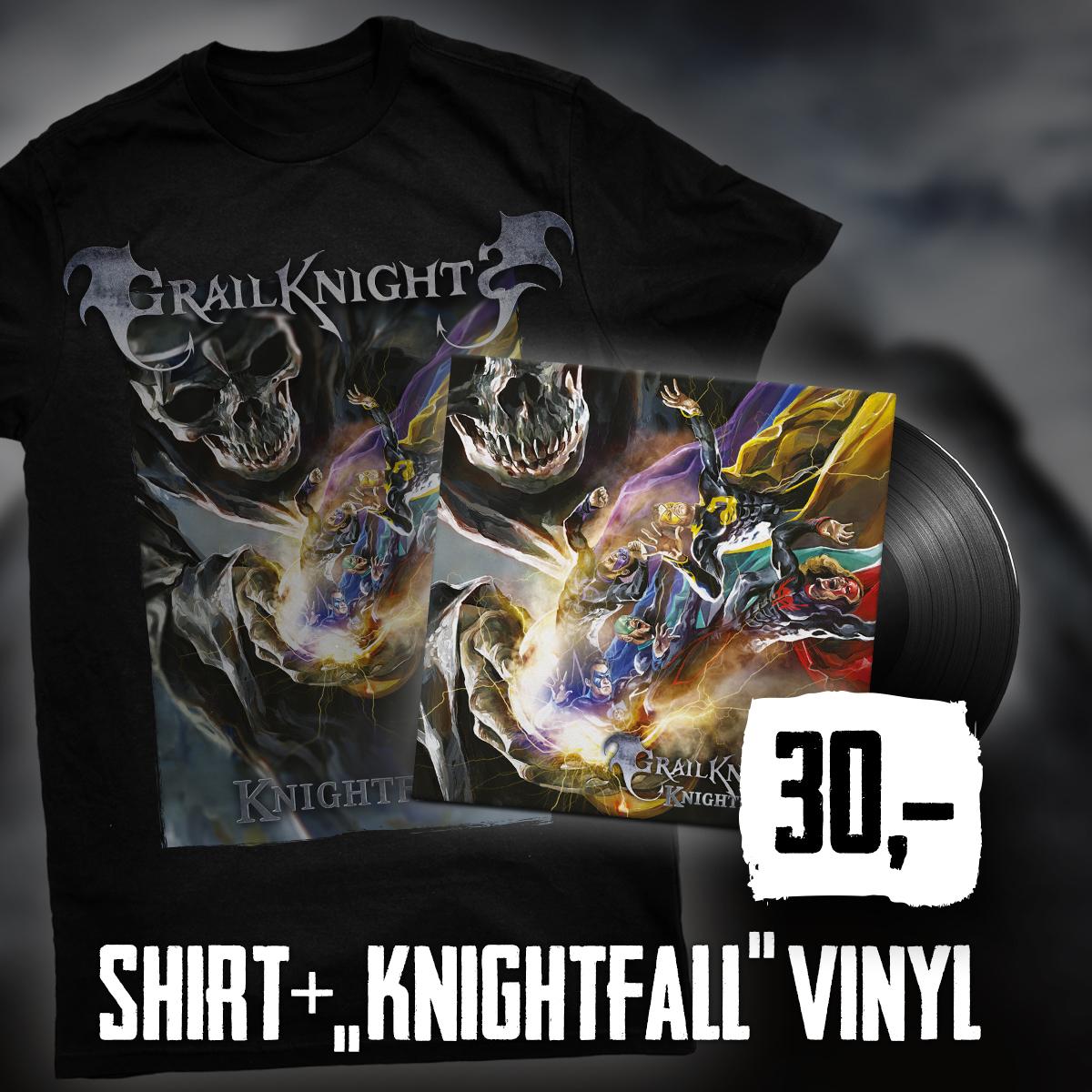 Shirt Knightfall & Vinyl